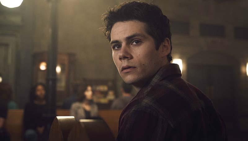 Dylan O'Brien as Stiles Stilinski in Season 6 of MTV's Teen Wolf