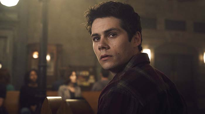 Dylan O'Brien as Stiles Stilinski in Season 6 of MTV's Teen WolfDylan O'Brien as Stiles Stilinski in Season 6 of MTV's Teen Wolf