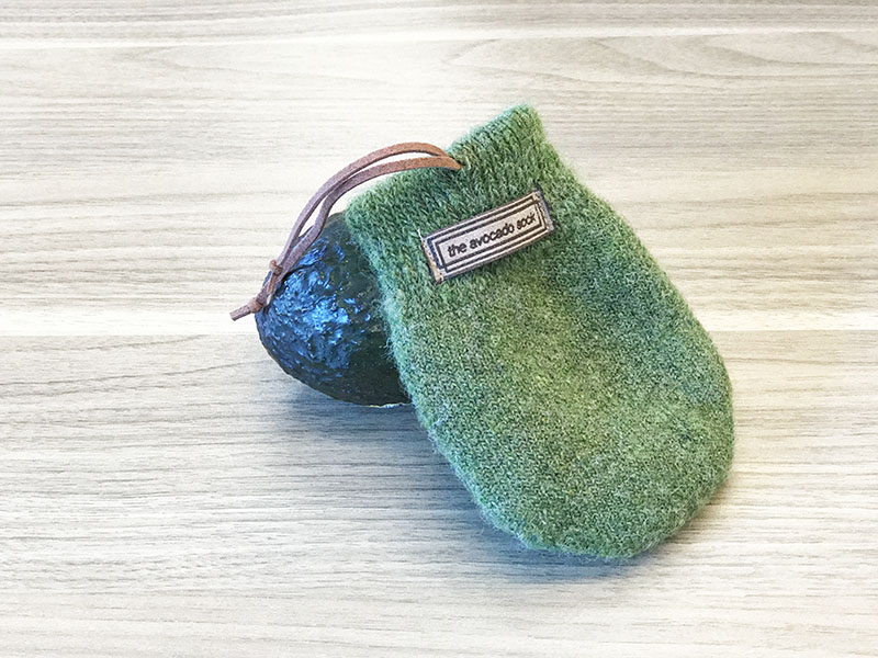 The Avocado Sock in green