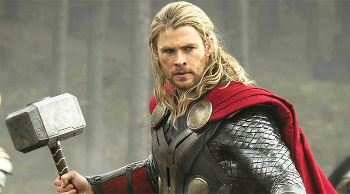 Chris Hemsworth as Marvel's Thor