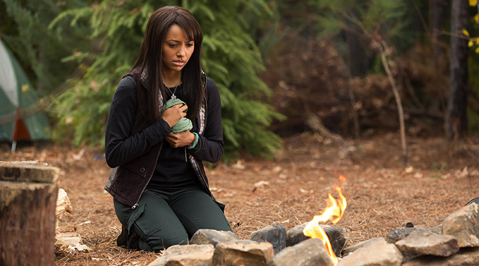 Kat Graham as Bonnie Bennett in The CW's The Vampire Diaries
