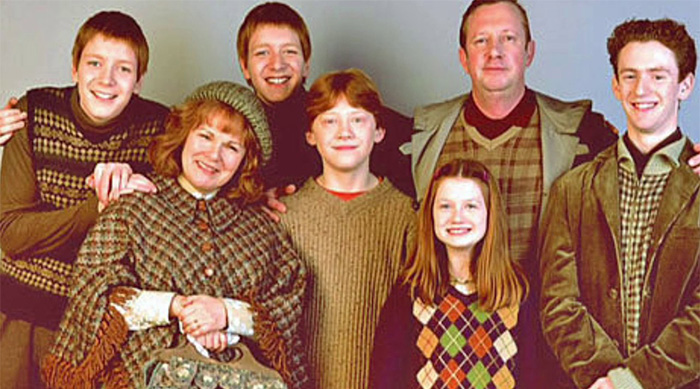 Harry Potter: Weasley family photo