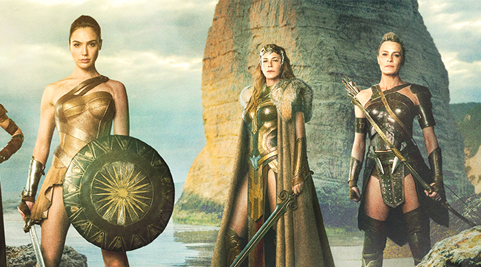 Diana, Hippolyta and Antiope from Wonder Woman film