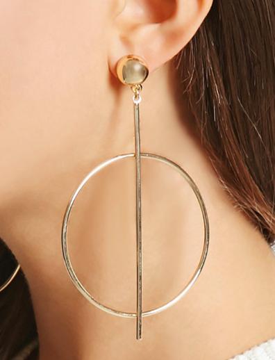 Forever 21 Matchstick Hoop earrings