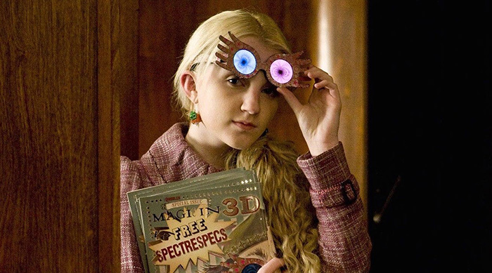 Luna Lovegood in Harry Potter and the Order of the Phoenix