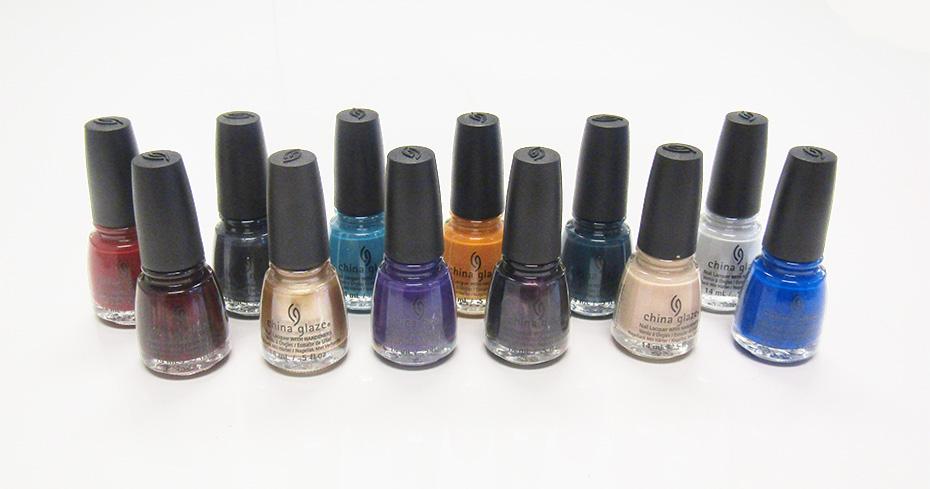 China Glaze Fall Collection Nail Polish Ranking