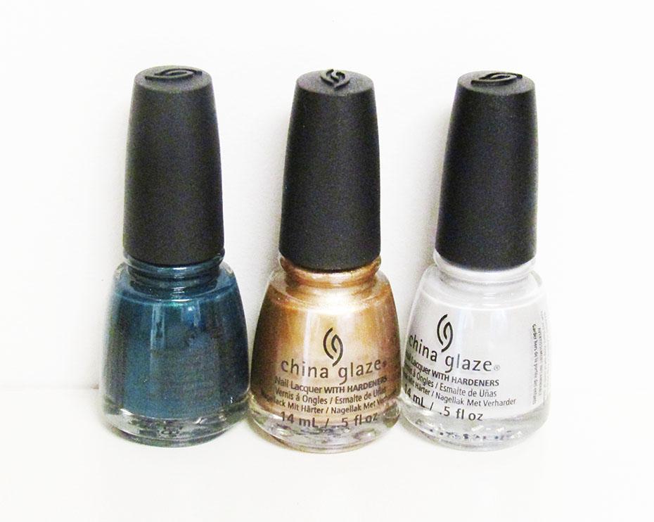 China Glaze Totally Studded fall nail polishes