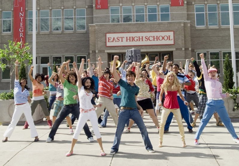 School's Out number in High School Musical 2