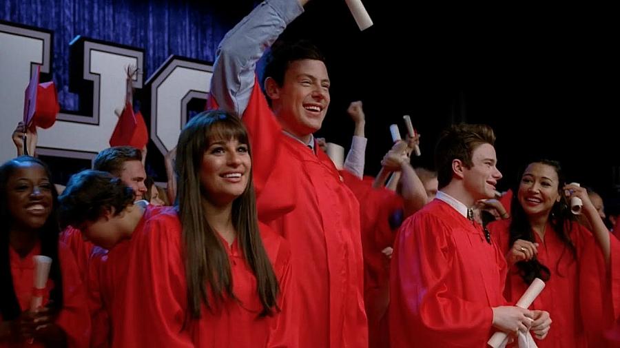 Glee high school graduation