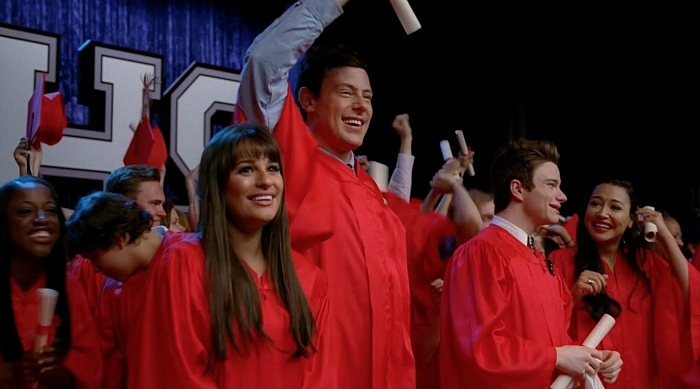 Glee high school graduation