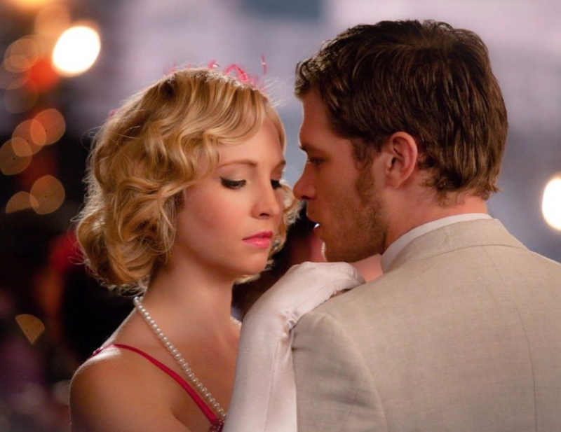 Klaus and Caroline From the Vampire Diaries Dancing