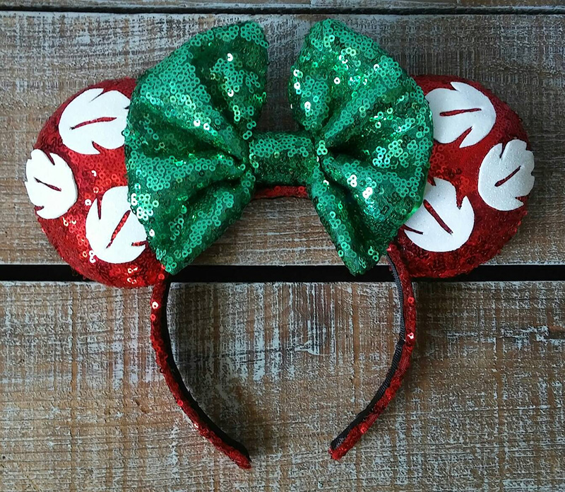 Lilo-inspired Minnie Mouse ears from Etsy