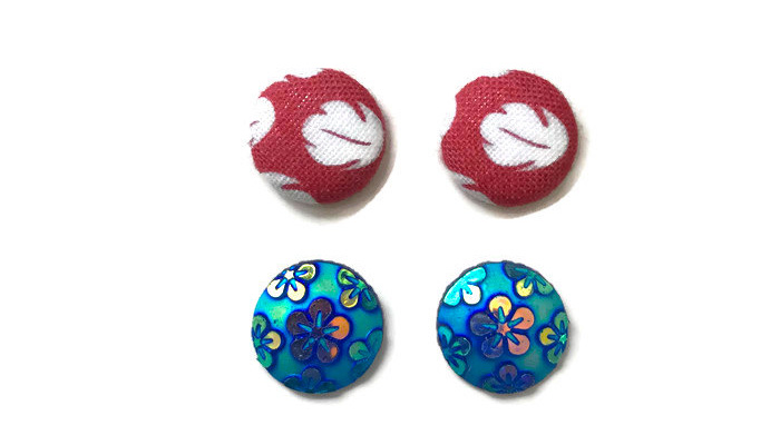 Lilo and Stitch-inspired earrings from Etsy