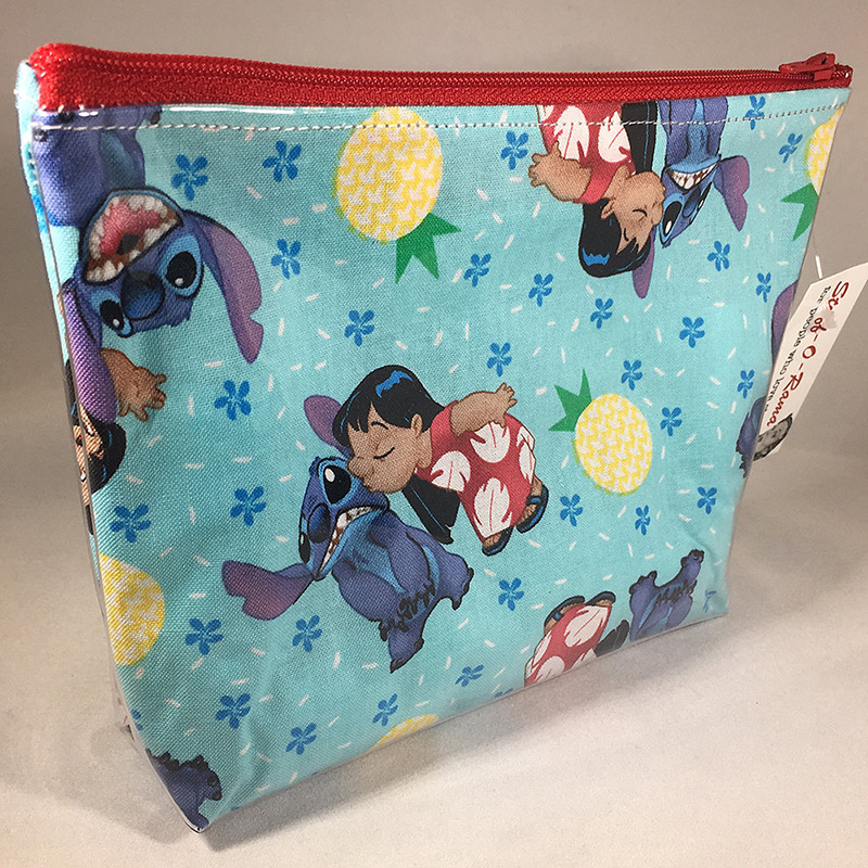 Lilo and Stitch-printed makeup bag from Etsy