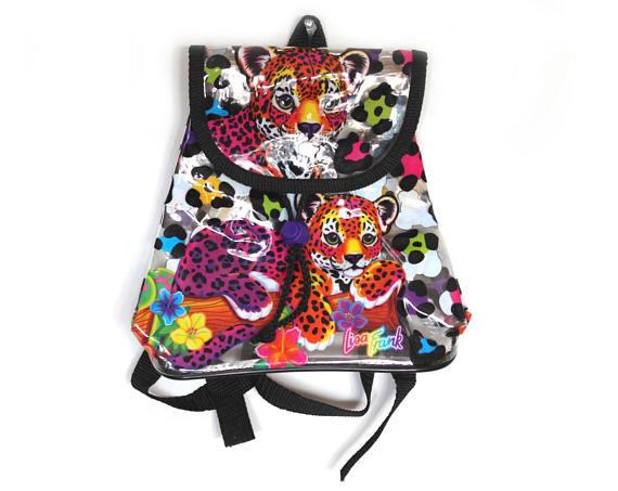 Lisa Frank clear backpack