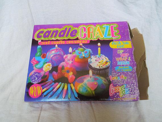 Lisa Frank candle craze