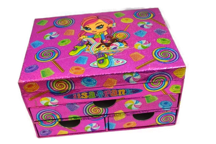 Lisa Frank stationary box