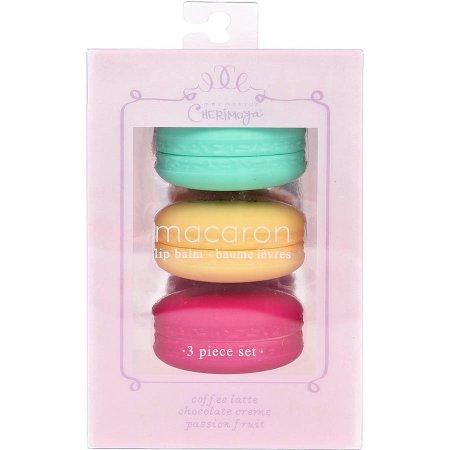 Macaron lip balm set