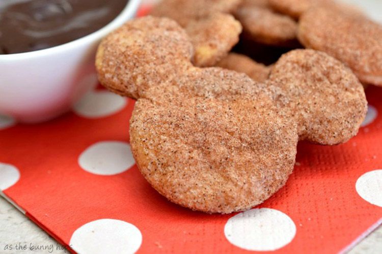 Mickey Mouse churro cookies recipe