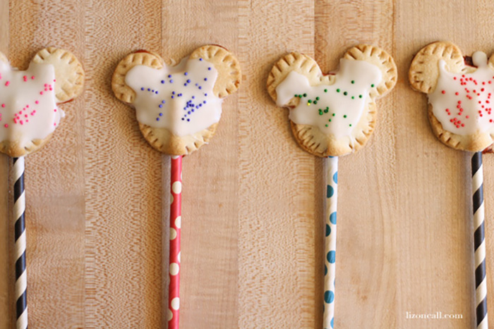 Mickey Mouse pop tarts recipe