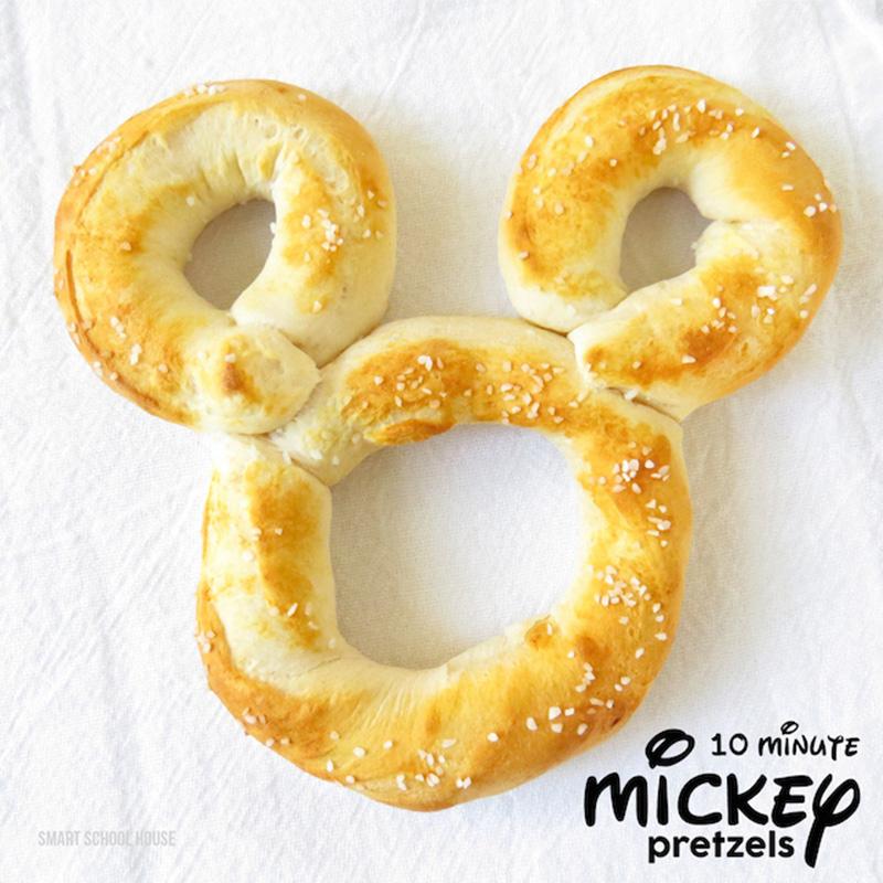 Copycat recipe for Disneyland's Mickey Mouse pretzels