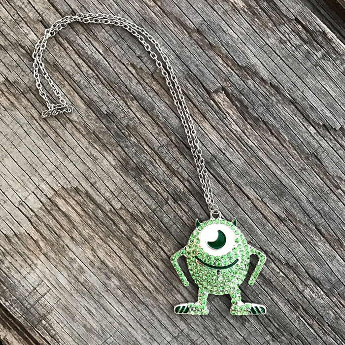 Mike Wazowski necklace from Etsy
