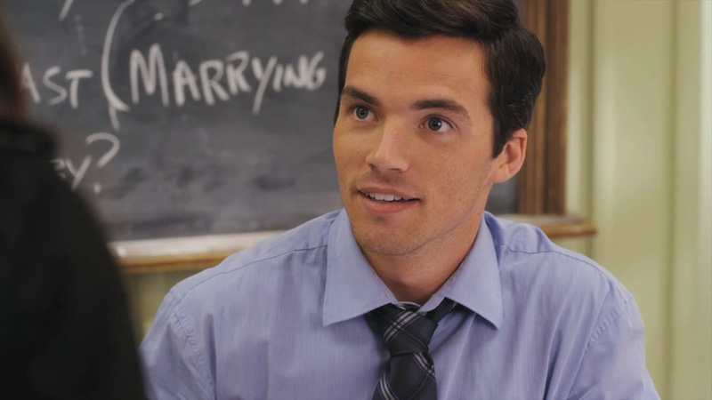 Ezra Fitz on Pretty Little Liars