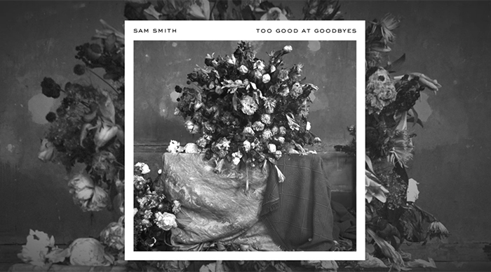 "Sam Smith's single cover art for ""Too Good at Goodbyes"""