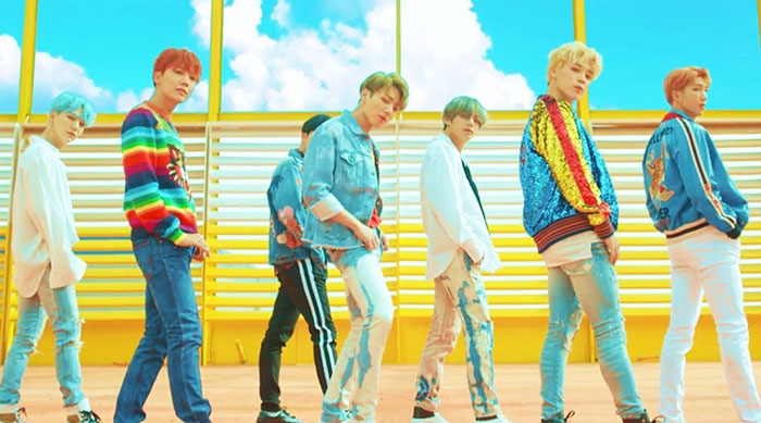 "Music video for ""DNA"" by BTS"