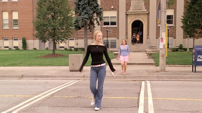 North Shore High School in Mean Girls
