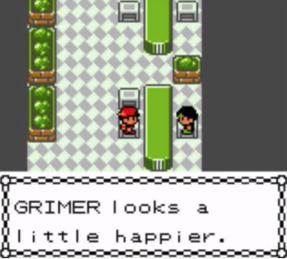 Pokémon Gold and Silver: Haircut brother