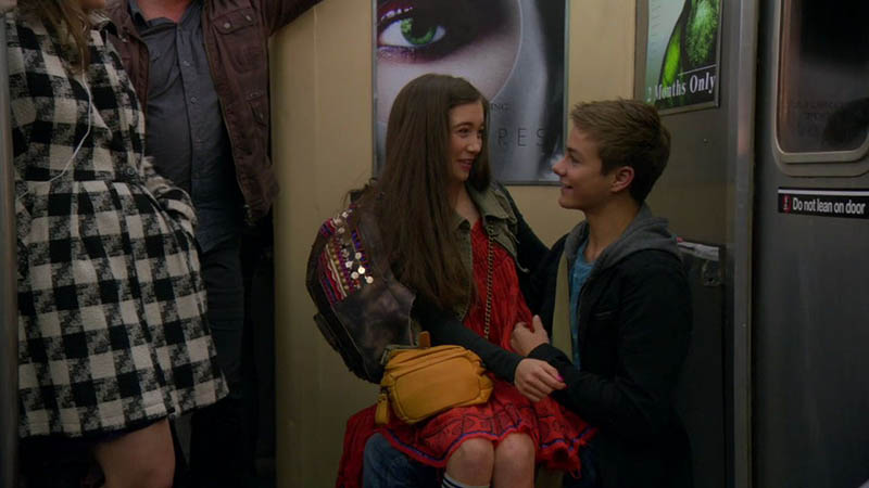 Riley telling Lucas she likes him on Girl Meets World