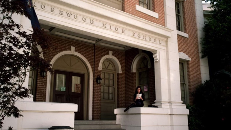 Rosewood High School in Pretty Little Liars