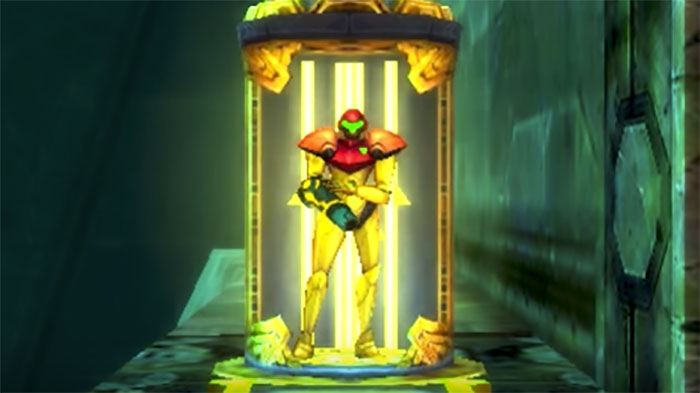 Metroid: Samus Returns save spot
