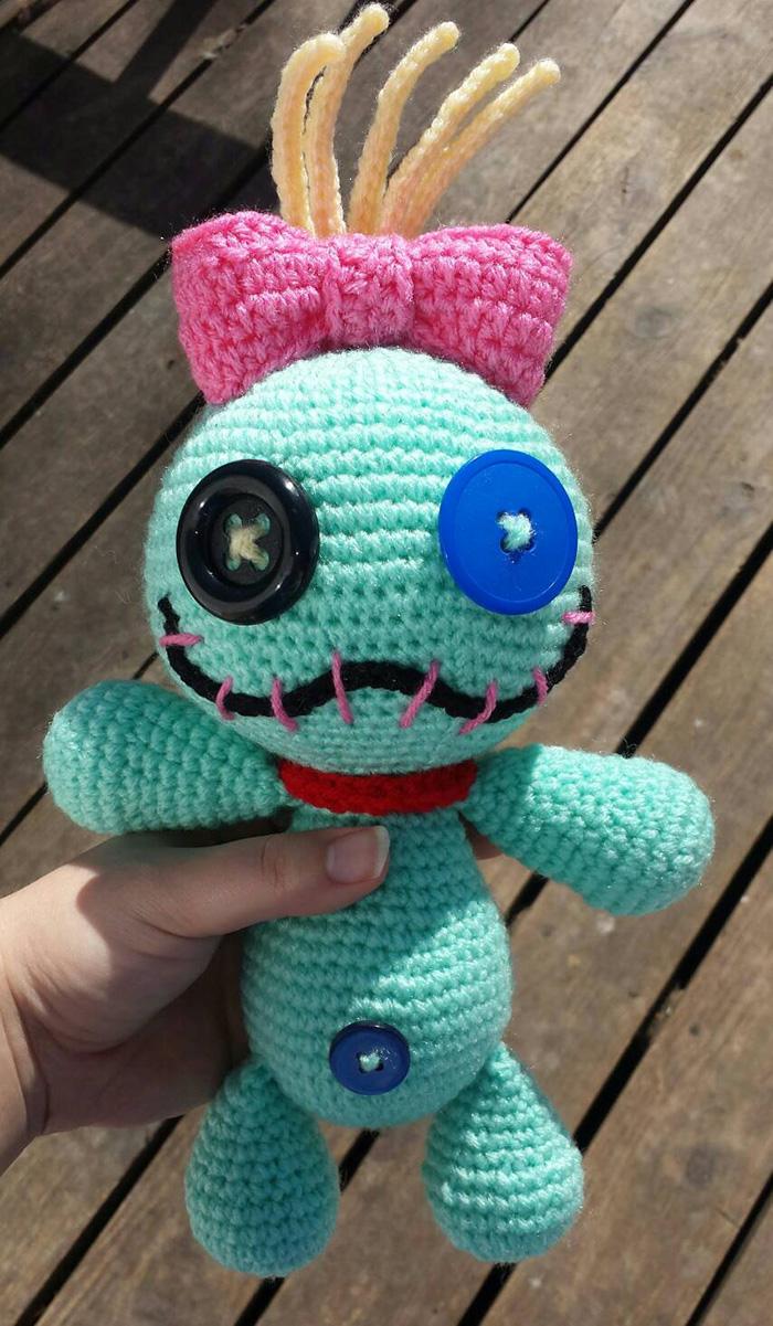 Scrump plush doll from Etsy