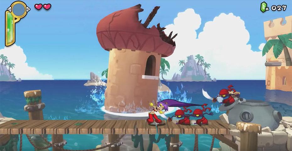 Shantae Hair Whip Half Genie Hero