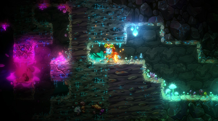 SteamWorld Dig 2: Underground glimmering world of Yarrow