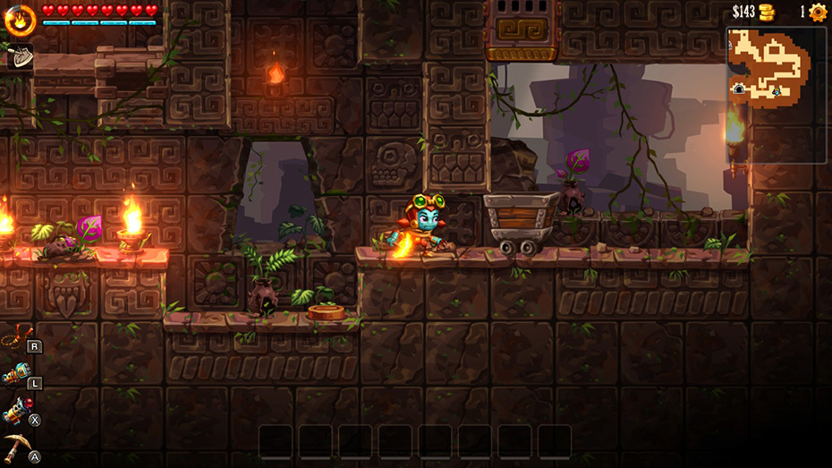 SteamWorld Dig 2: Minecart