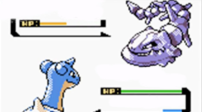 Pokémon Gold and Silver: Lapras vs. Steelix