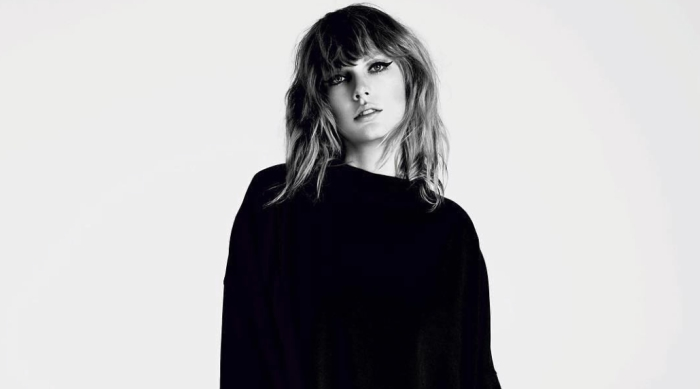 Taylor Swift at the Reputation Photoshoot