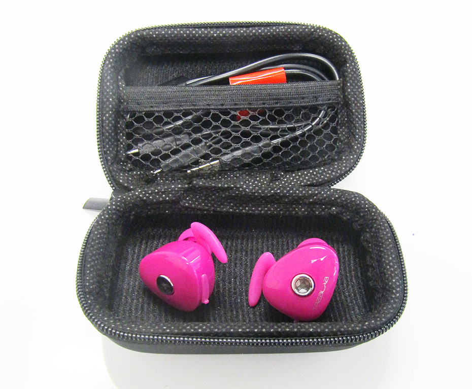 Wireless earphones red - wireless earphones treblab