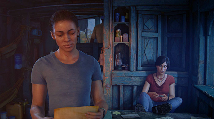 Nadine and Chloe is Uncharted the Lost Legacy