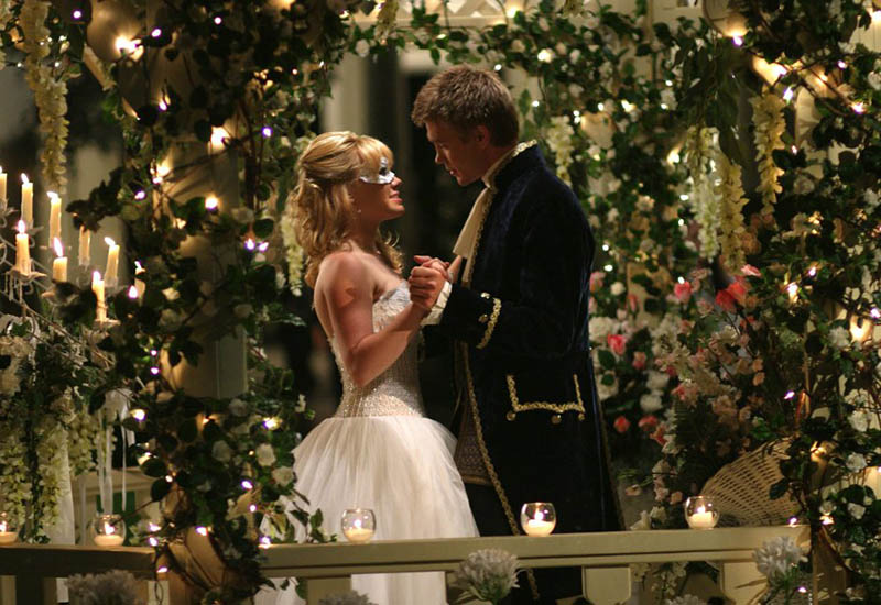 Hilary Duff and Chad Michael Murray in A Cinderella Story