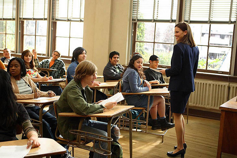 Hilary Swank in Freedom Writers