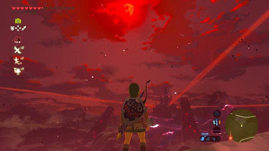 The Legend of Zelda: Breath of the Wild Blood Moon