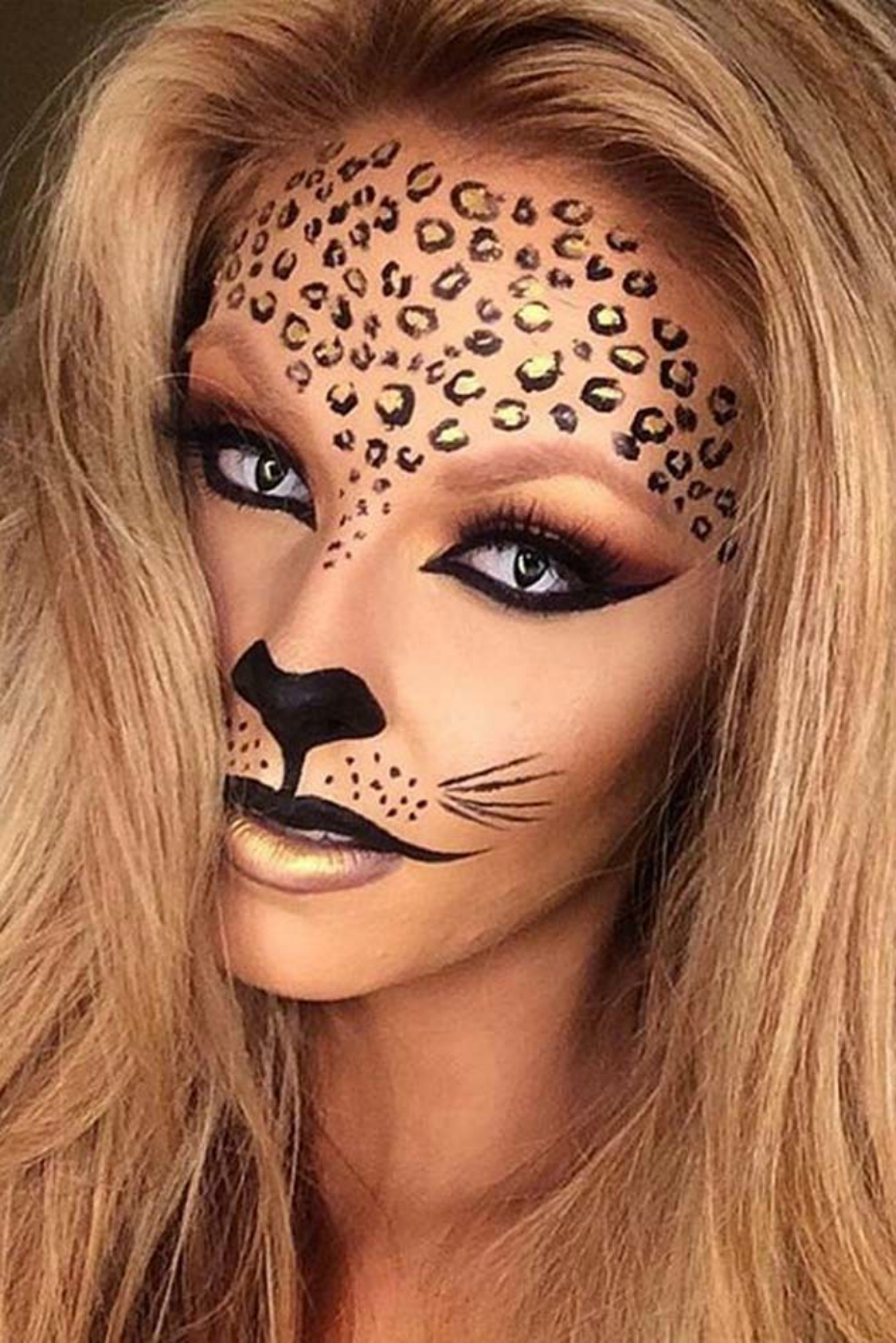 Halloween Cheetah Makeup  sc 1 st  Sweety High & Halloween Costumes You Can Create Using Makeup You Have