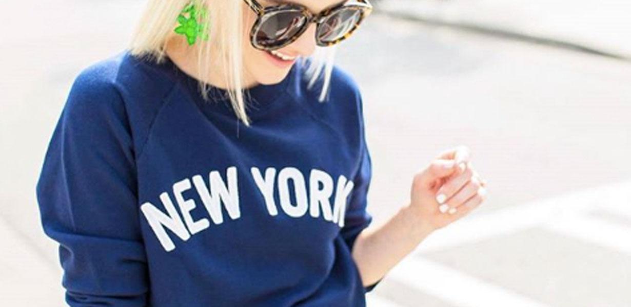 New York Slogan Tee