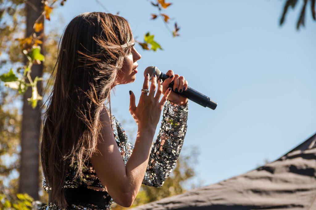 Sofia Carson Singing Emotional