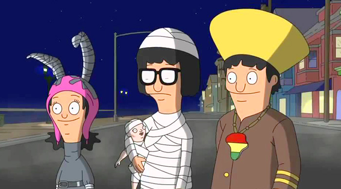 Bob's Burgers: Louise, Tina and Gene's Halloween costumes