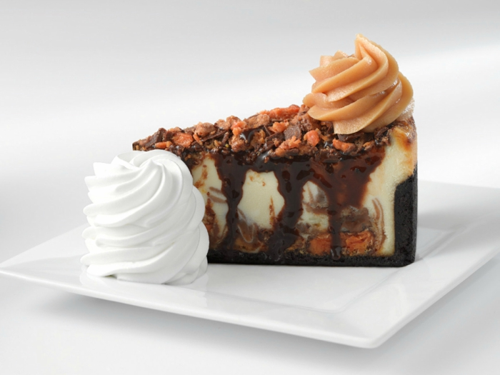 Cheesecake Factory peanut butter cheesecake